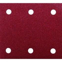 Brúsny papier 114x140mm 10ks suchý zips perforovaný Makita 6 otvorov
