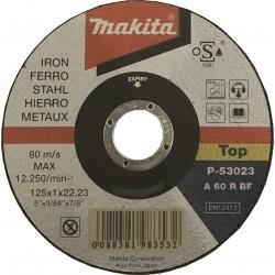 P-53023 Tenký kotúč 125x1.0x22.23 1ks železo Makita