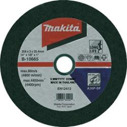 B-10665-5 Kotúč 355x3.0x25.4 5ks železo Makita